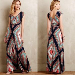 (Anthro) Maeve Verda Maxi Dress. XL
